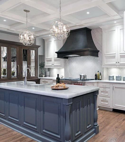 Unique White Kitchens