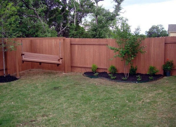 Unique Wood Backyard Dog Fence Ideas