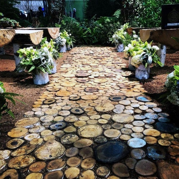 Unique Wooden Walkway Home Ideas