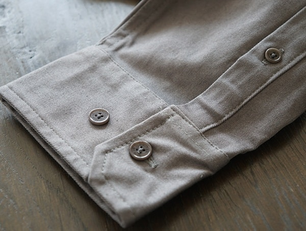 United By Blue Holt Work Shirt For Men Cuff Buttons