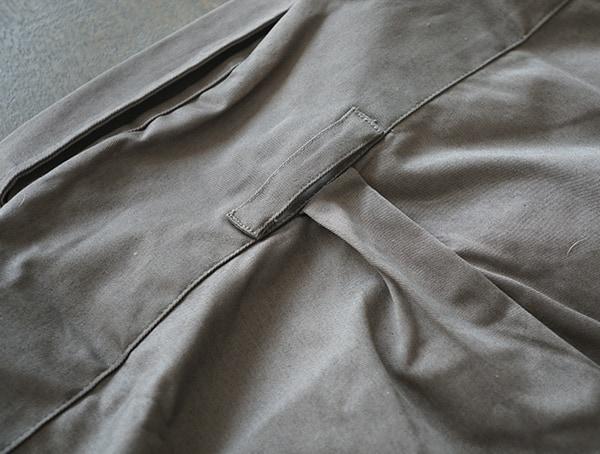 United By Blue Holt Work Shirt For Men Upper Back Detail