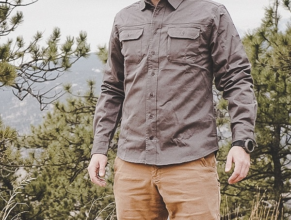 United By Blue Mens Long Sleeve Button Down Holt Work Shirt Review