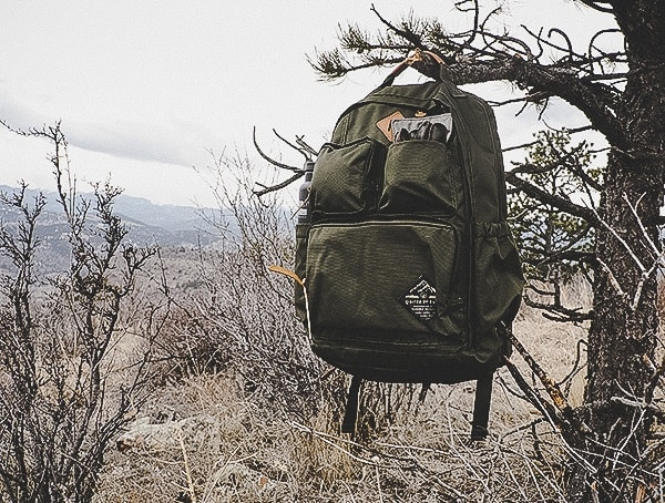United By Blue Review Olive 24 Liter Arid Backpack