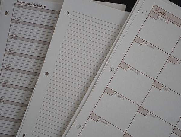 Universal Calender And Date Rite In The Rain Maxi Field Planner