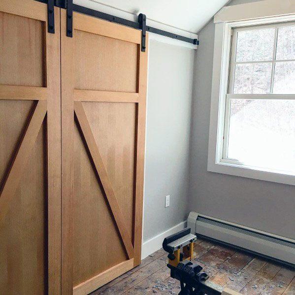 Unstained Wood Barn Door Ideas Inspiration