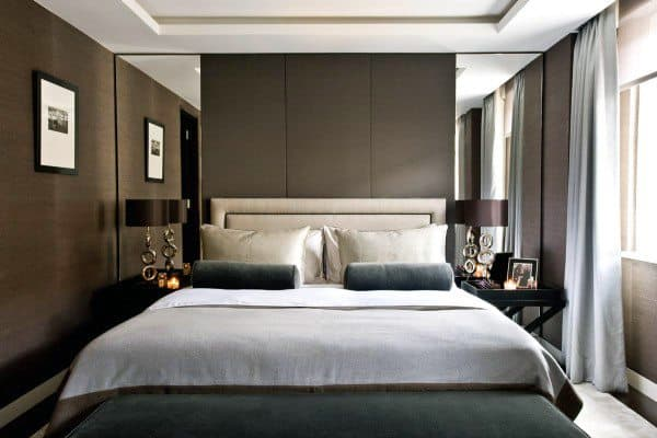 Top 60 Best Headboard Ideas - Bedroom Interior Designs on Mirrors Next To Bed  id=15498