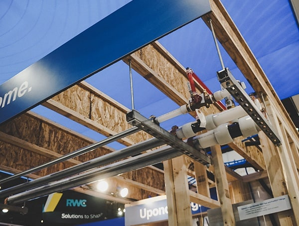 Uponor Ceiling Pipe 2019 Nahb Show Las Vegas