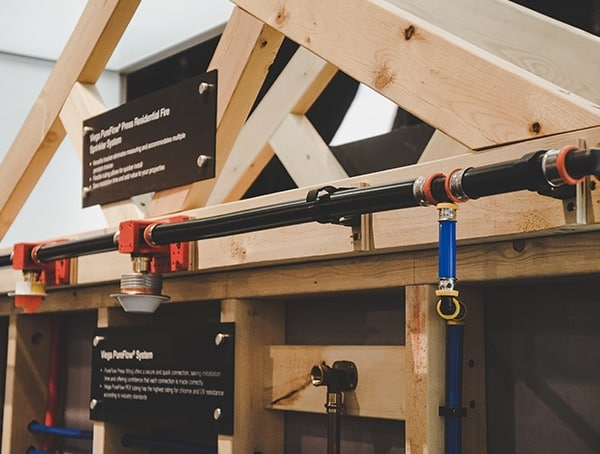 Uponor Fire Spinkler System Tubing 2019 Nahb Show Las Vegas
