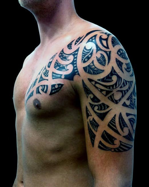 100 Maori Tattoo Designs For Men -New Zealand Tribal Ink Ideas