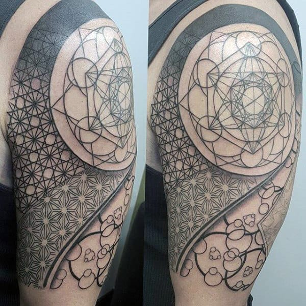 top 100 best sacred geometry tattoo designs for men