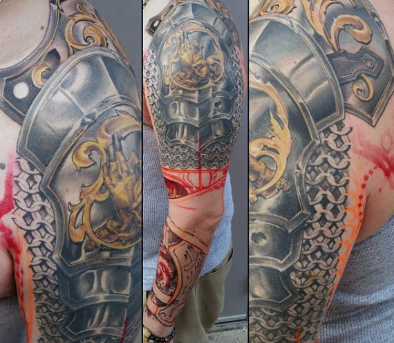 Underarm Tattoos Designs Ideas And Meaning: Manly Designs Linked In Strength
