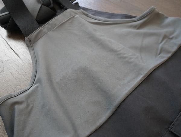 Upper Back Detail Mens Black Dakine Stoker Gore Tex 3l Bib