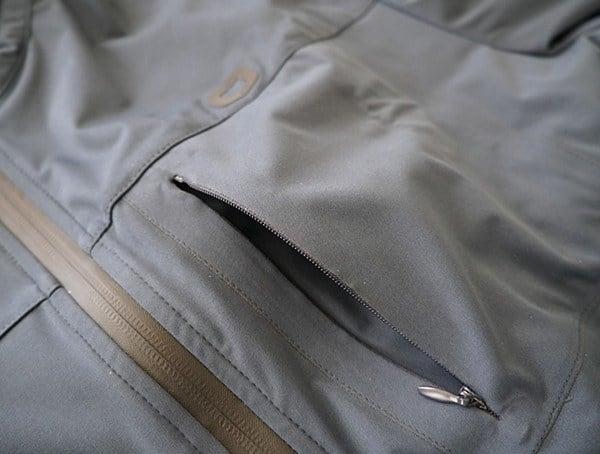 Upper Chest Pocket Open Ogio All Elements Strech Wind Jacket For Men