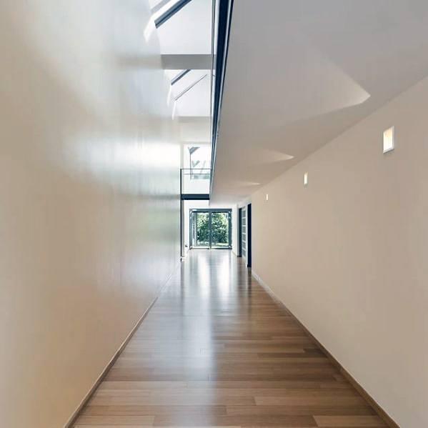 Upper Wall Square Led Hallway Lighting Ideas