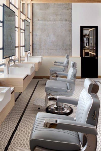 Upscale Barber Shop Designs