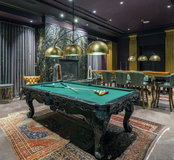 Billiard Rooms: Top 80 Best Billiards Room Ideas