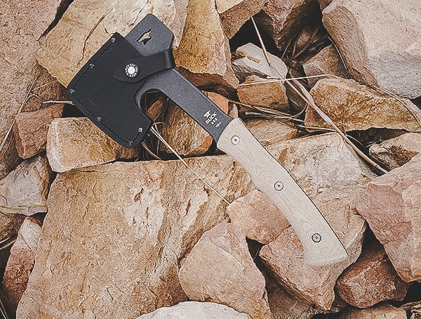 Usa Made Buck Knives Company Review Compadre Camp Axe