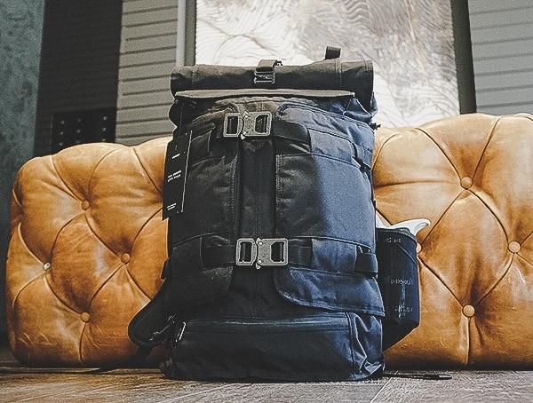Usa Made Weatherproof Mens Backpacks Black Mission Workshop The Rhake