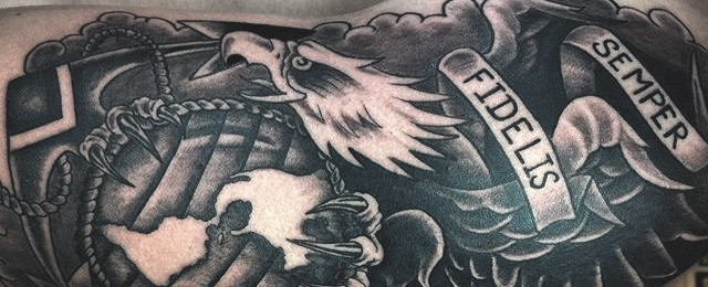 Usmc Marine Tattoos For Men