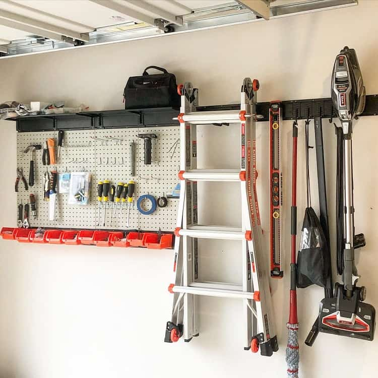 Utility Room Garage Pegboard Ideas Design.2.organize