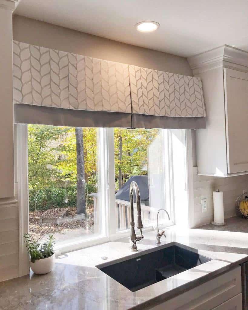 valance kitchen curtain ideas annettenielseninteriordesigner