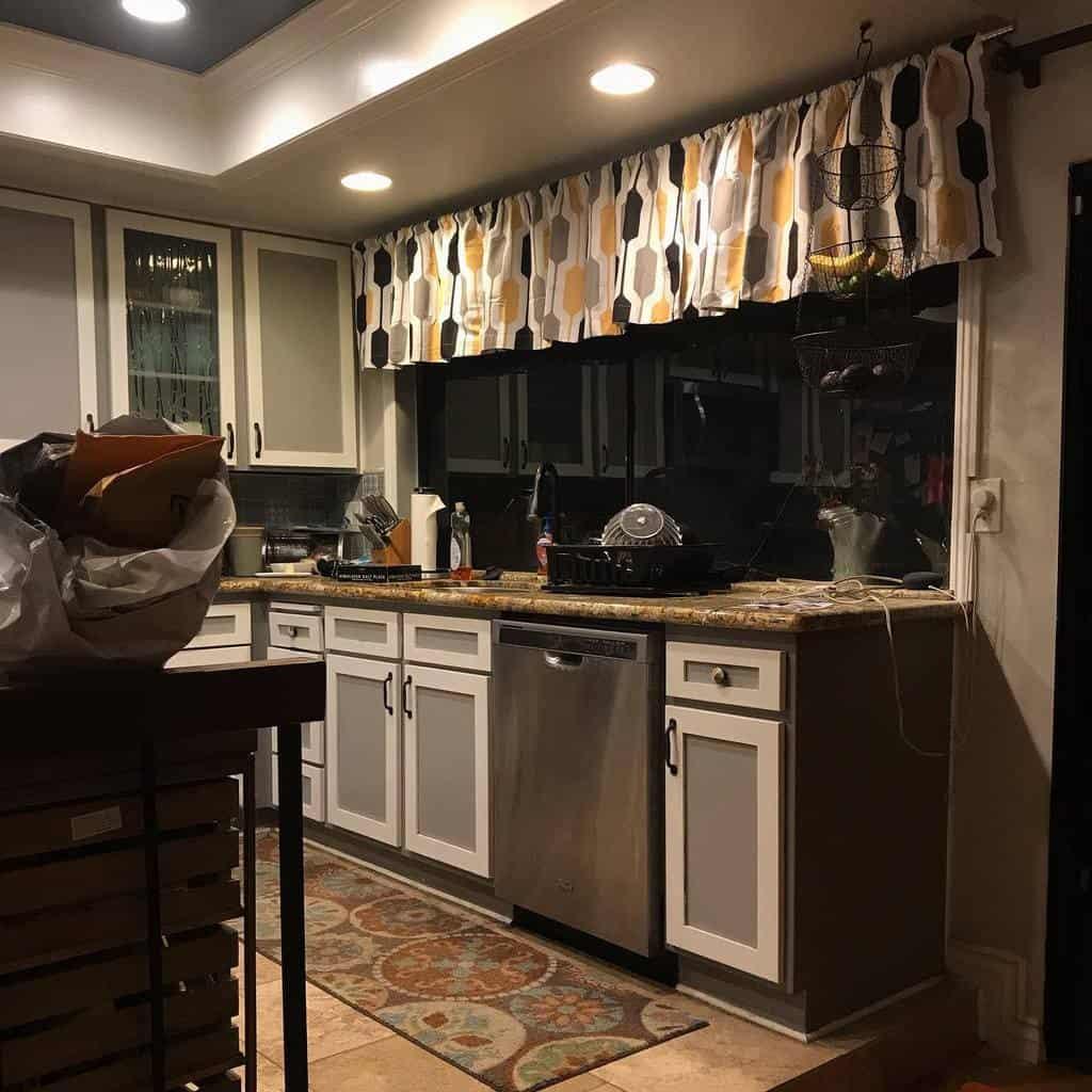 valance kitchen curtain ideas brookslooneyville