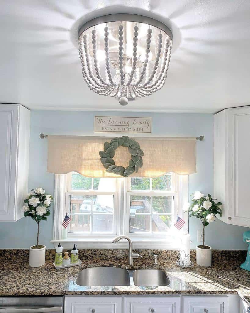 valance kitchen curtain ideas shorelycozy