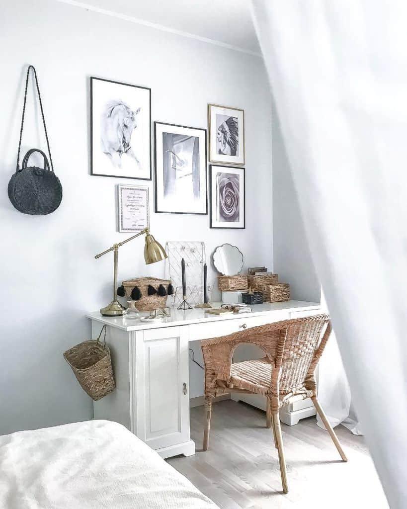 vanity and desk bedroom organization ideas radicalchic_home
