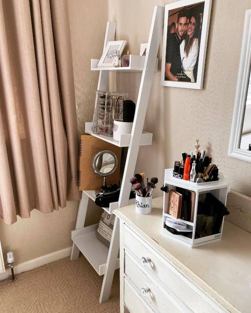 vanity and desk bedroom organization ideas rhirhilloyd