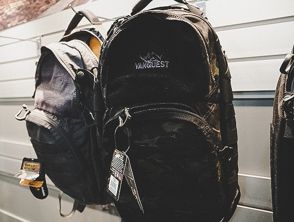 Vanquest Tactical One Day Black Multicam Backpacks