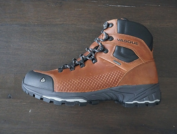 Vasque St Elias Full Grain Gore Tex Boots Side View