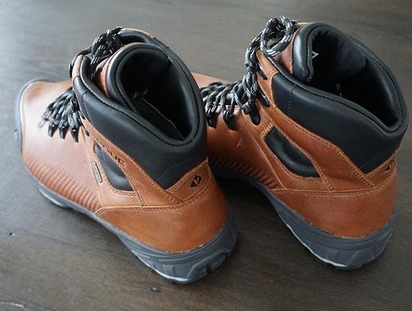 Vasque St Elias Full Grain Gore Tex Mens Boots Heel