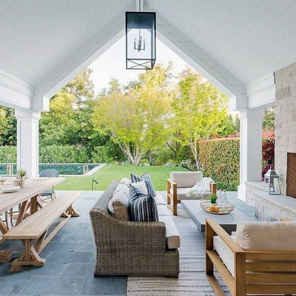Top 60 Patio Roof Ideas - Covered Shelter Designs on Open Patio Designs id=52386