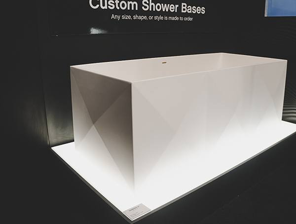 Vegas Nahb Show 2019 Modern Geometric White Bathtub