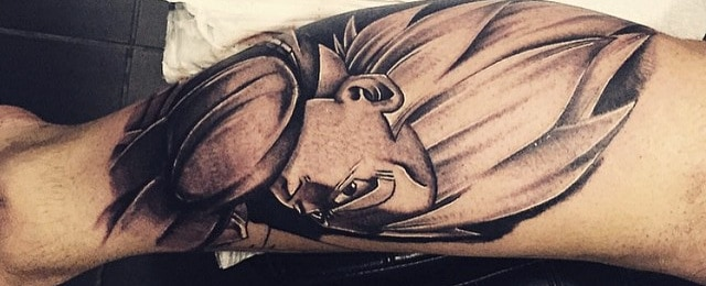 Vegeta Tattoo Designs For Men