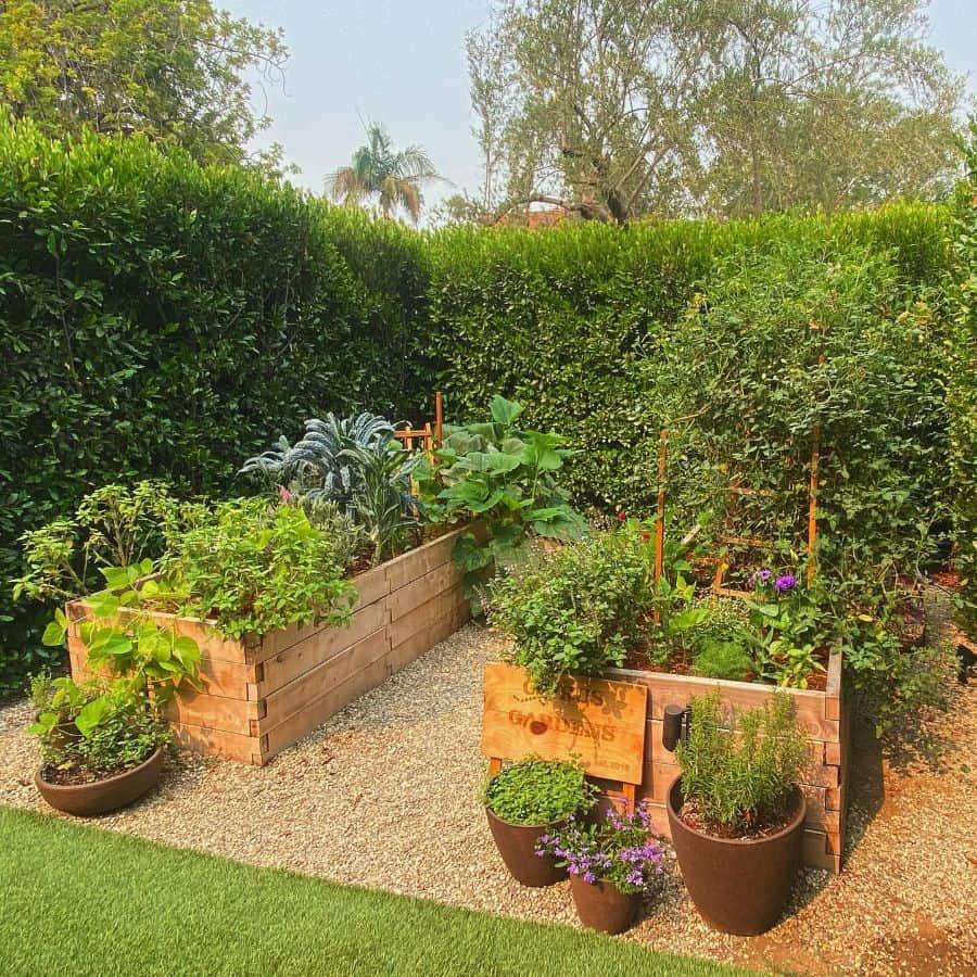 vegetable raised garden bed ideas hommesandgardens