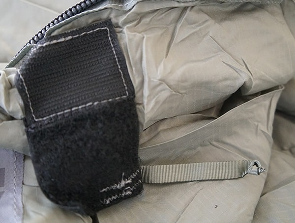 Velcro Interior Closure Kelty Tactical 30 Degree Field Sleeping Bag