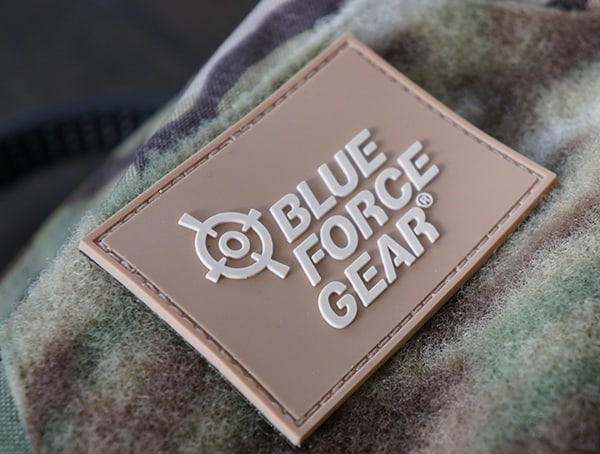 Velcro Patch Lue Force Gear Tracer Backpacks