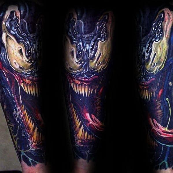 Venom Carnage Tattoo: Venom Vs Carnage Tattoo 40594