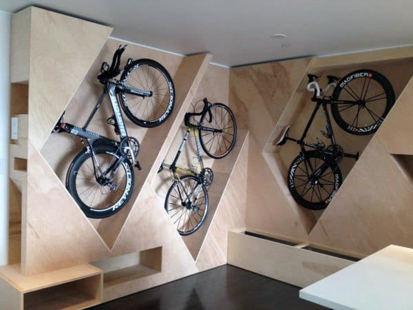 Vertical Bicycle Storage