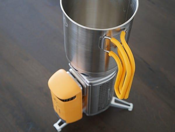 Vertical Cool Touch Handles Biolite Kettlepot