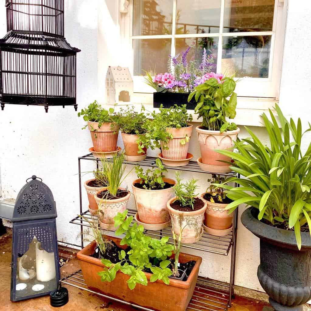 vertical garden herb garden ideas kazzstyle_
