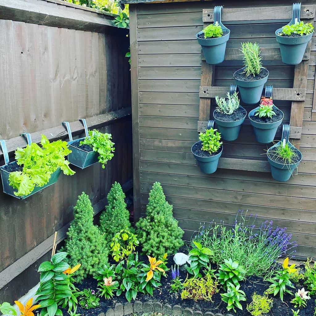 vertical garden herb garden ideas slimmingworldandme2020_