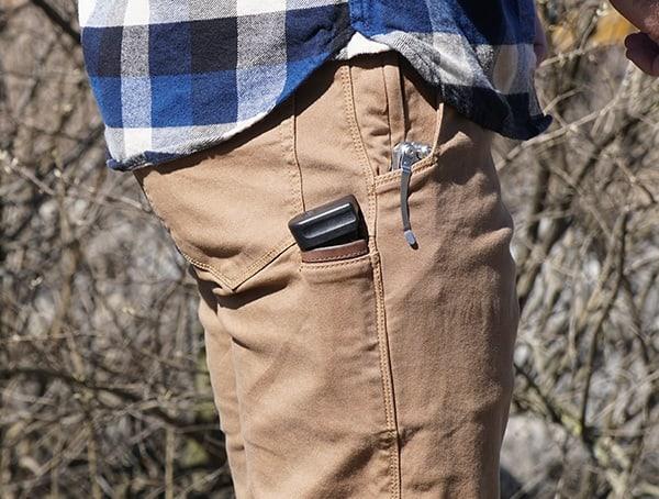 Vertx Delta Strech Pants For Men Side