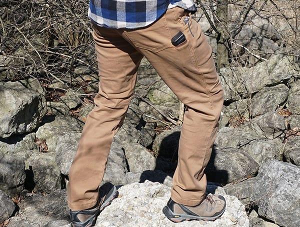 Vertx Delta Strech Pants Review Back