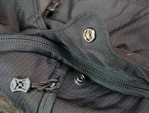 Vertx Edc Gamut Plus Backpack Button Open