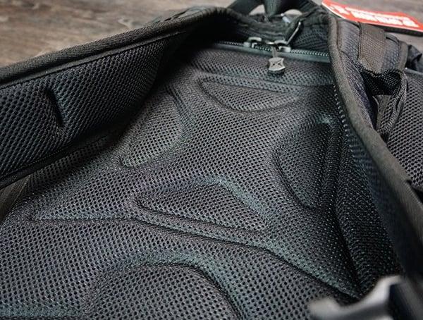 Vertx Edc Gamut Plus Backpack Rear Of Pack Padding