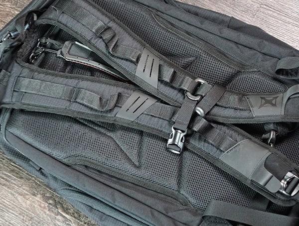 Vertx Edc Gamut Plus Backpack Shoulder Straps Back