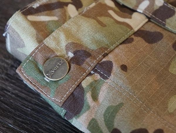 Vertx Recon Pants Main Button Closure