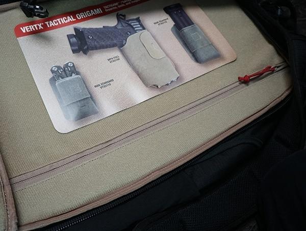 Vertx Tactigami Area Interior Of Edc Gamut Plus Backpacks